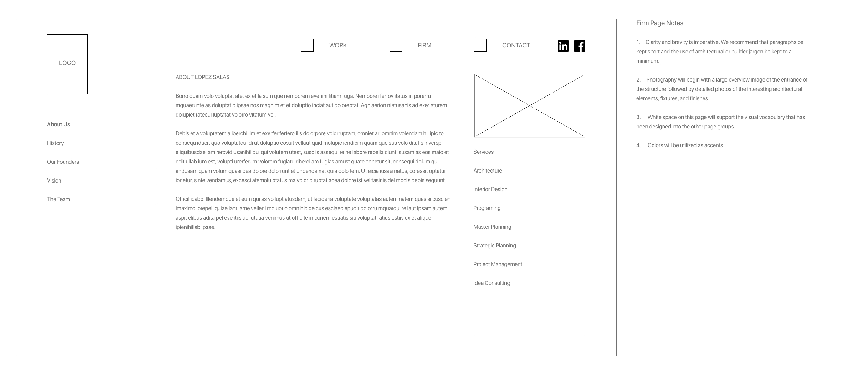 Firm Wireframe