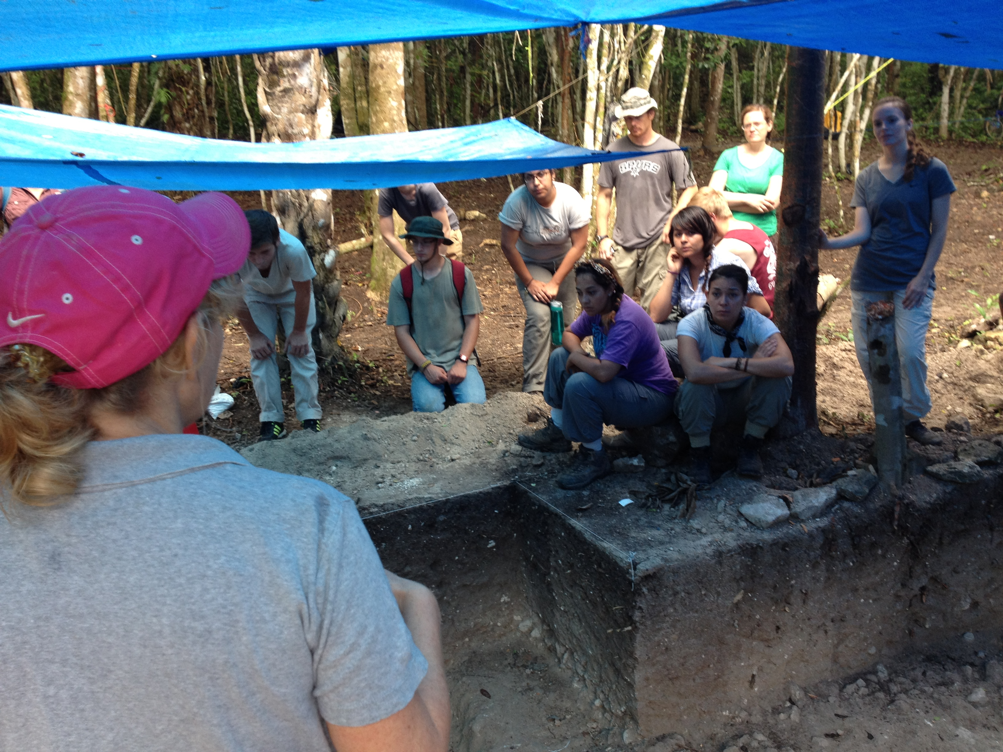 Instruction at the site