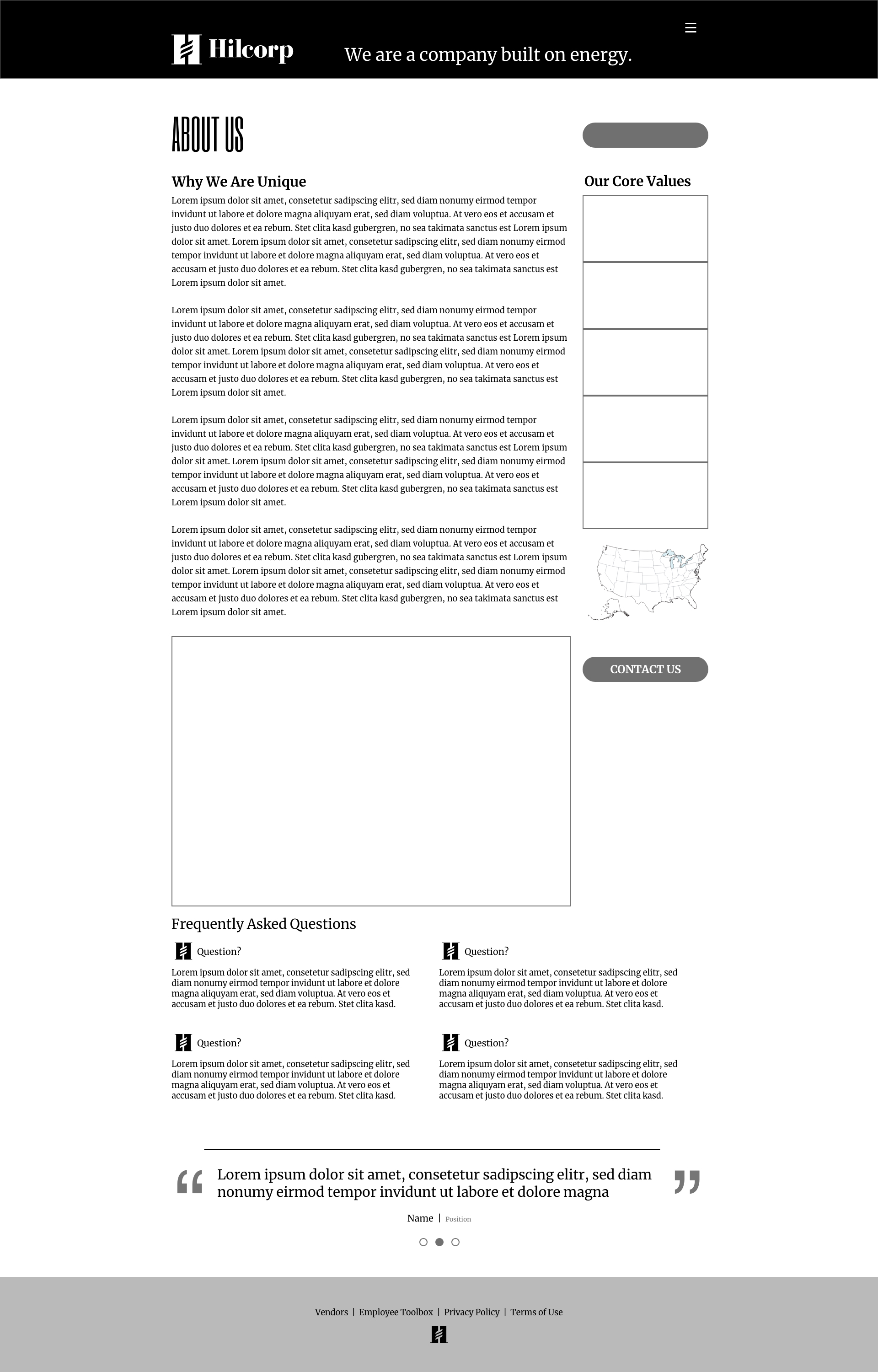 Text Heavy Page