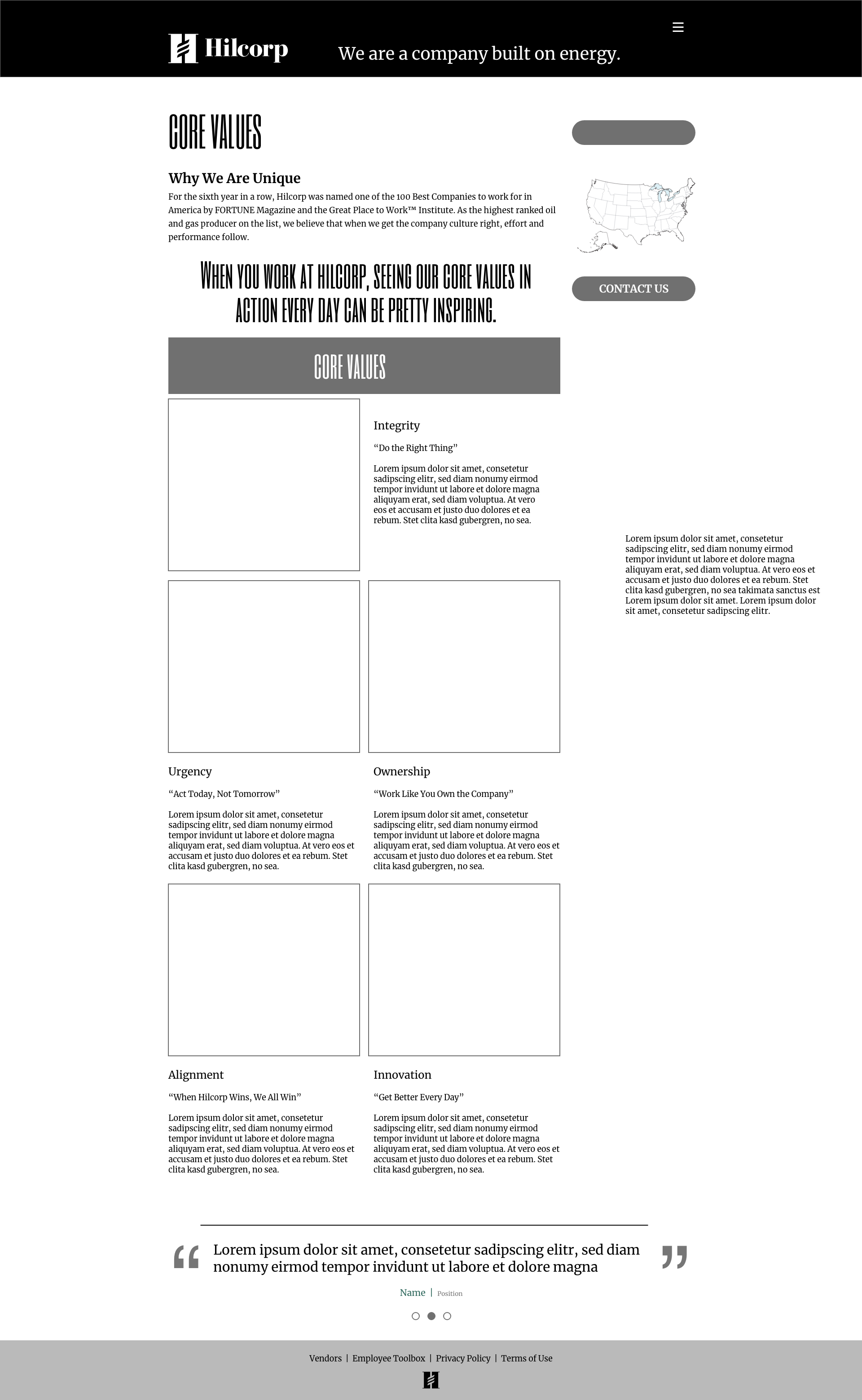 Text and Image Page