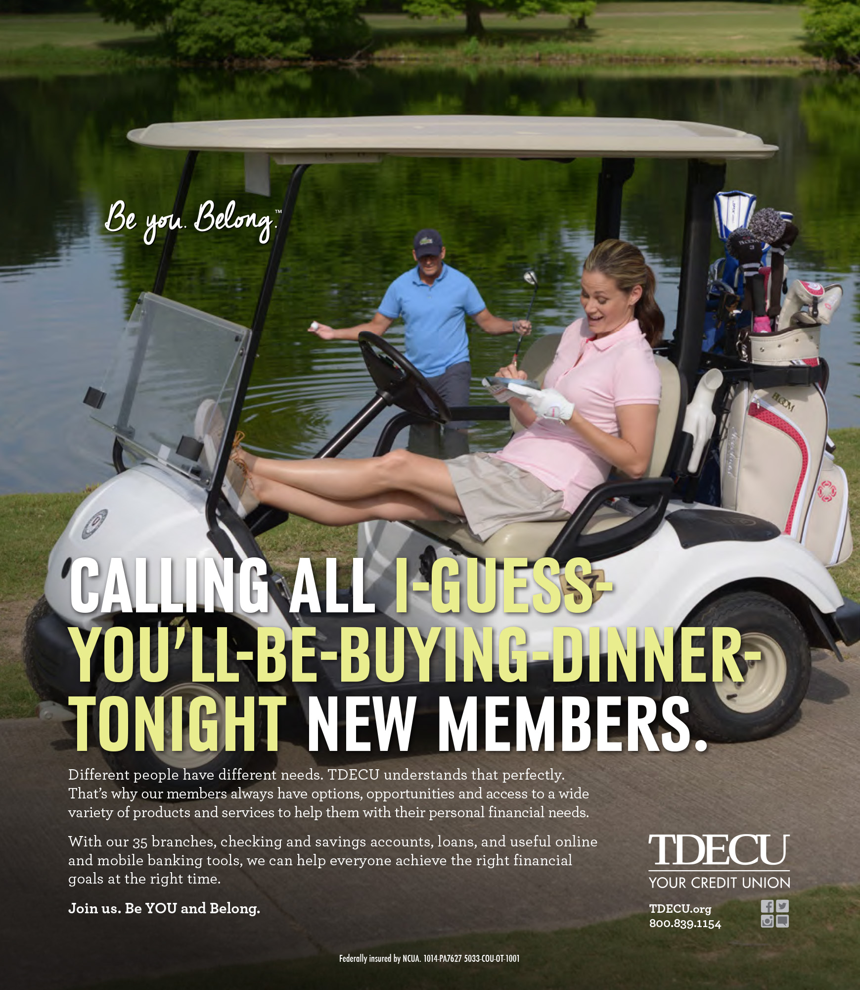 Golf Sponsor Ad