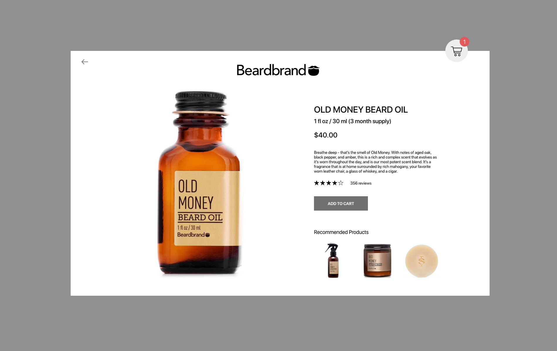 Daily UI 12 E-Commerce Shop
